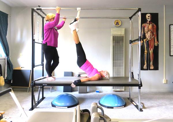 Pilates Class in Lake Tahoe by Pamela