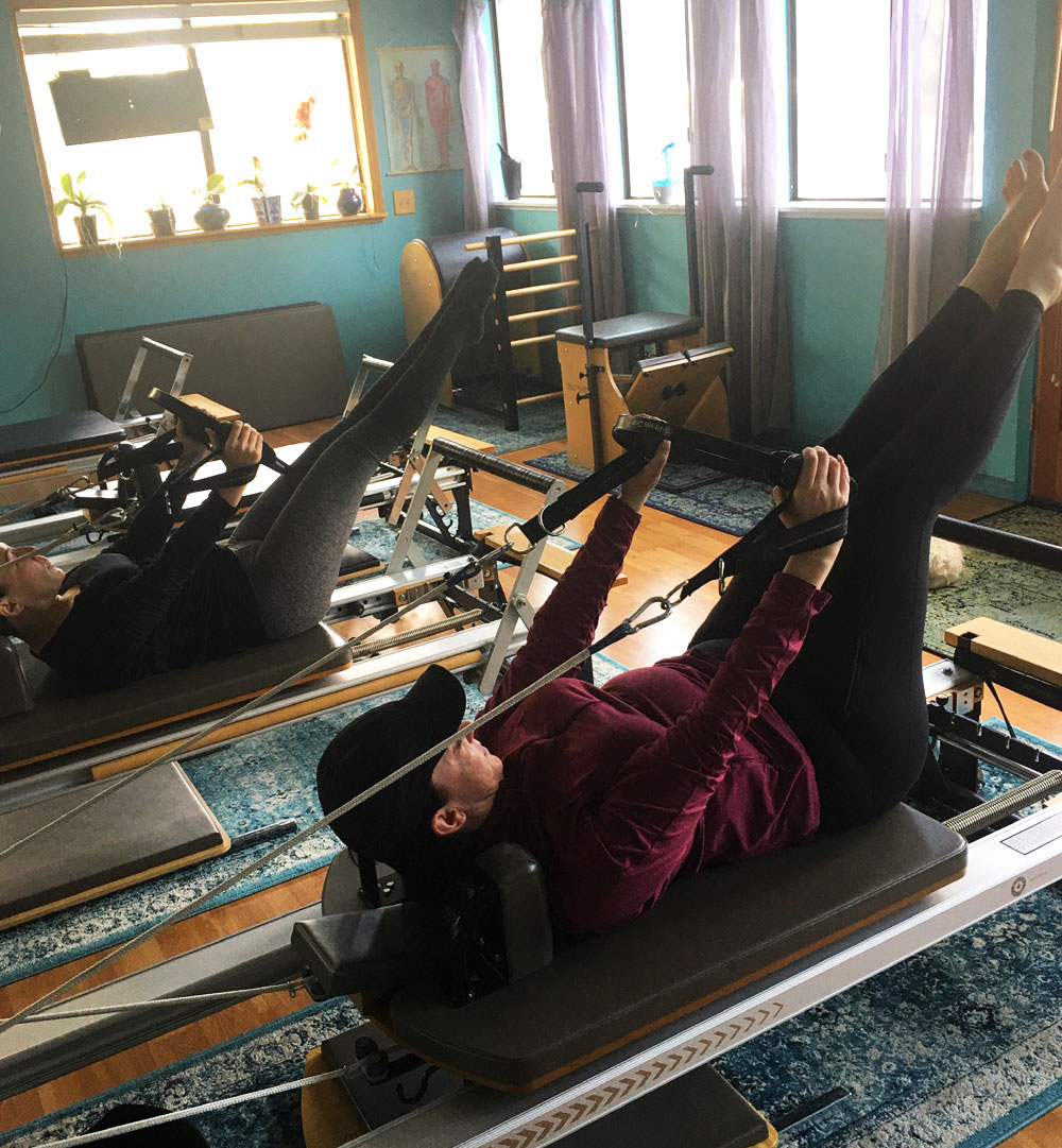 group pilates class in lake tahoe